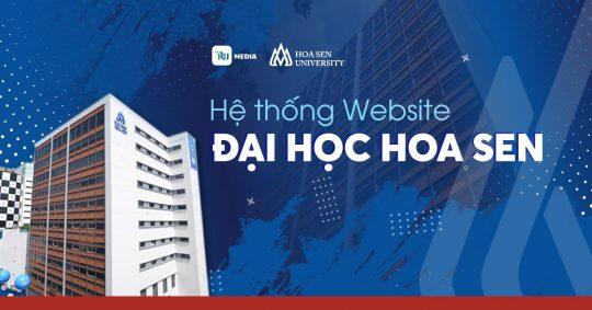 thiết kế hệ thống website đại học hoa sen