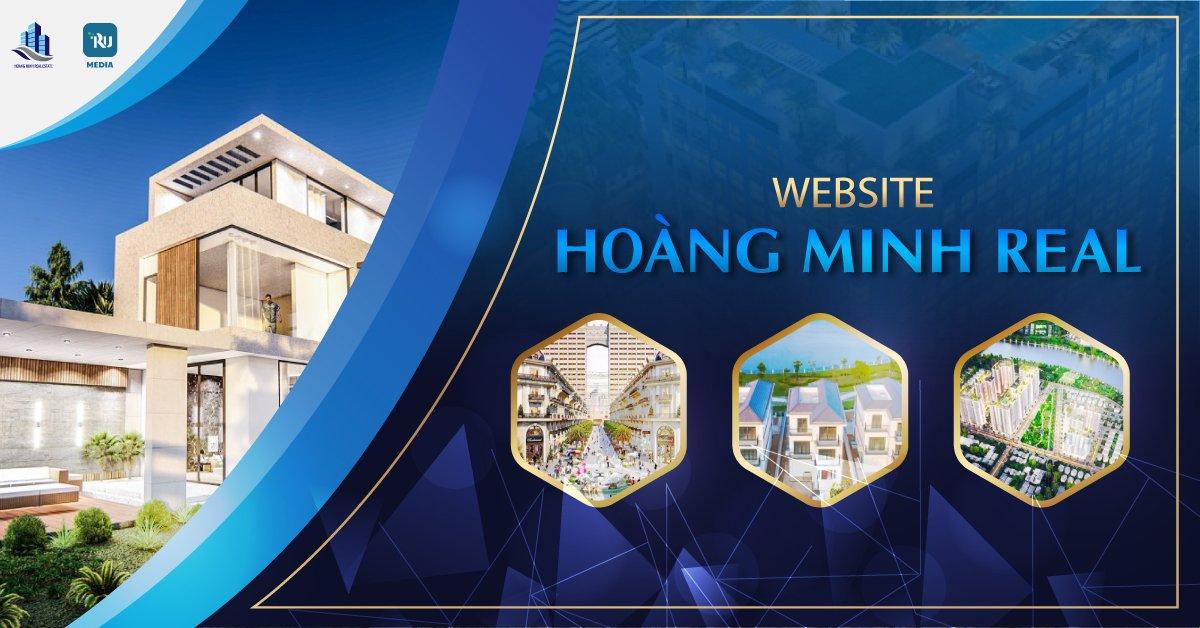 thiết kế website Hoàng Minh Real